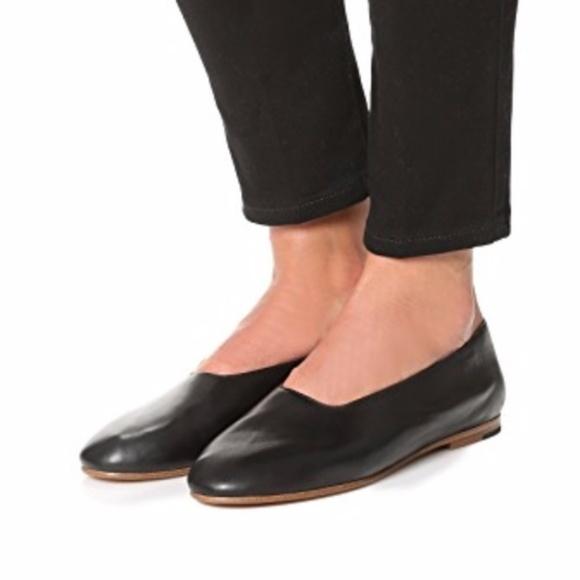 dc63811b0 Vince Shoes | Maxwell Leather Flat Black 55m | Poshmark